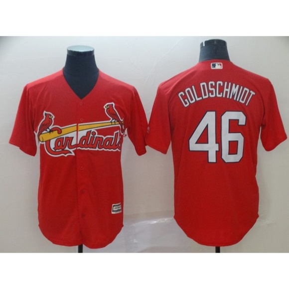 best service c3b04 bb1fc St. Louis Cardinals Paul Goldschmidt Jersey 1